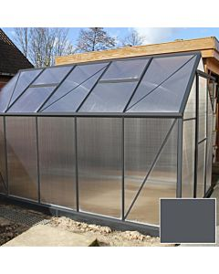 Tuinkas Foreststar 400 4mm polycarbonaat antraciet